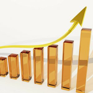 steigender Chart